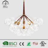 2017creative Modern Pendant Lamp Glass Bubble Chandeliers for Restaurant Lighting