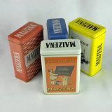 Wholesale Rectangular Shape Metal Tin Box for Tea Packing