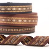 The Ethnic Style Printed Ribbon for Garments and Bags