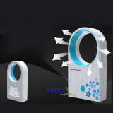 Portable No Leaf Air-Condition Table Fan, Mini USB Bladeless Fan