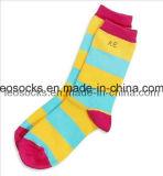 Women Strip Colourful Socks (DL-WS-52)