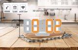 Unique 3D LED Digital Wall Clock Large Digit Style
