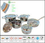 Cookware Set 5ply Body Copper Core