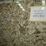 Polished Yellow Granite Slab New Giallo Ornamental