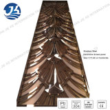 Rose Gold 304 Stainless Steel Laser Cut Decorative Room Dividers