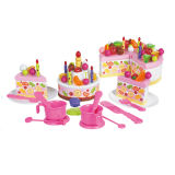 Gift Toys Pretend Play Set Birthday Cake Toy for Girl (H0001200)