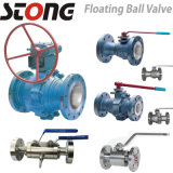 Floating Ball Valve with RF Flange, Butt Weld End
