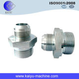 Bsp Male Double Use Pipe Fitting Connector