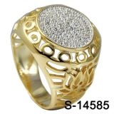 Factory Wholesale Man Ring Jewelry Silver 925