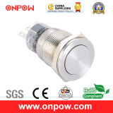 Onpow 19mm Metal Push Button Switch (LAS1-AGQPF-11/S, CE, UL, CCC, RoHS)