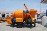 Double Motrors Mixer Concrete Pump