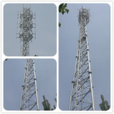 Galvanized Steel 3-Legs Lattice Telecom Tower