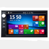 Universal 2DIN in Car DVD Player Auto with GPS Navigation