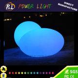 Flashing Illuminated Glowing LED Oval Light