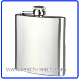 SGS Audit Popular Stainless Steel Hip Flask (R-HF020)