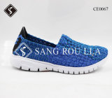 Good Quality Men and Women Weave Shoes with EVA Outsole