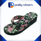 EVA Heat Tranfer Printing Ladies High Heel Slippers