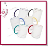 15oz Sublimation Ceramic Customized Mug Rim and Handle Color