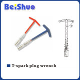 T Type Spark Plug Socket Wrench with Spring
