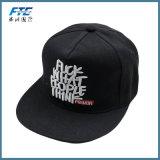 Custom Flat Brim Snapback Cap Embroidery Baseball Hat