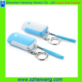 OEM Personal Alarm with Keychain Torch Light Promotion Gift