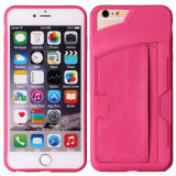 High Quanlity Wallet Leather Case with Card Solt for iPhone 6 7