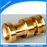 Brass Hardware CNC Turning Machining Connector Parts for Machinery