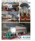 Factory ASME Design 20mt Mobile LPG Gas Refilling Skid Station