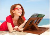 Wooden Laptop Book Holder Bookend Stand