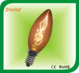 C35- 25W 40W 8anchors golden rustika bulb