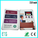Hot Sale 2.8 Inch LCD Screen Video Greeting Card