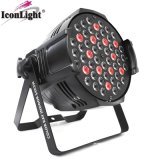Indoor 54X 3W Wash RGBW LED PAR Light for Stage Lighting