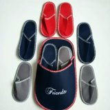 High Quality Cheap Wholesale Washable Soft Home Guest Felt Slippers Set