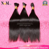 Human Hair Extension 100% Unprocessed Virgin Peruvian Hair Bulk