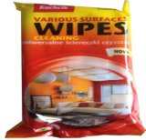 Cleaning and Whiting Leather Surface Wet Wipes