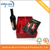 Red Wine Box with Red Inner Packaging Box