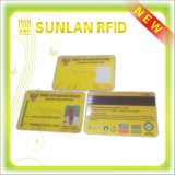 ISO 14443A NFC PVC Blank Magnetic Stripe Card with FM08/S50
