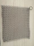 Chainmail Wire Mesh Cast Iron Pot Scrubbers.
