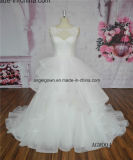 Hot Sale Organza Puffy Wedding Bridal Dresses