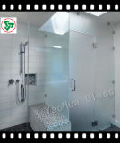 8mm 10mm Decorative Tempered Float Glass Shower Panel