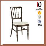 Wholesale Aluminum Wedding Black Stackable Napoleon Chair (BR-C058)
