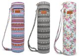 Full-Zip Exercise Mat Carry Yoga Sling Bag with Multi-Functional Storage Pockets