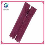 High Quality Plating Zipper Runner and Nylon Zipper for Handbag