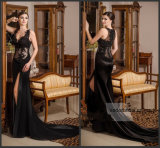 Black Evening Prom Dress Sexy Lace Wedding Formal Gown E52717