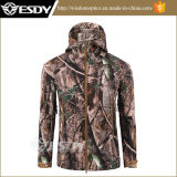 Men Outdoor Camping Waterproof Coats Military Hunting Jacket Hoodie Camo