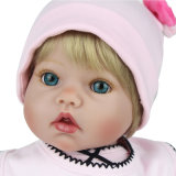 55cm Silicone Reborn Baby Doll Kids Playmate Gift for Girls