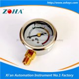 Oil Filled Anti - Vibration Pressure Gauge with Four Color Dial