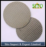 Stainless Steel 40 Micron Filterwoven Mesh Filter Disc