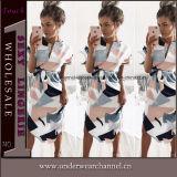 Summer Top Fashion Ladies Sleeveless Polyester Dress (TONY6017)