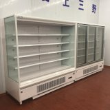 New Style Built-in Compressor Refrigerator Showcase for Beverage Vegetable Fruit